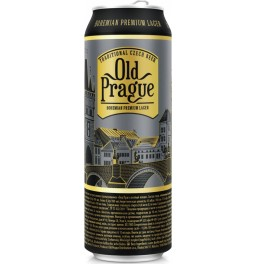 "Пиво ""Old Prague"" Bohemian Premium Lager, in can, 0.5 л"