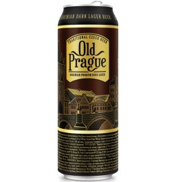 "Пиво ""Old Prague"" Bohemian Premium Dark Lager, in can, 0.5 л"