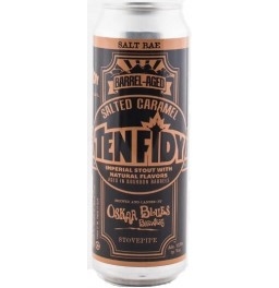 "Пиво Oskar Blues, ""Ten Fidy"" Barrel-Aged Salted Caramel, in can, 568 мл"