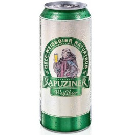 "Пиво ""Kapuziner"" Weissbier, in can, 0.5 л"