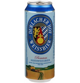 "Пиво ""Durlacher"" Hefeweissbier Hell, in can, 0.95 л"