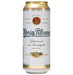 "Пиво ""Konig Pilsener"", in can, 0.5 л"
