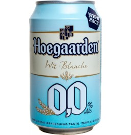 "Пиво ""Hoegaarden"" Blanche 0,0, in can, 0.33 л"