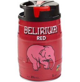 "Пиво ""Delirium"" Red, mini keg, 5 л"