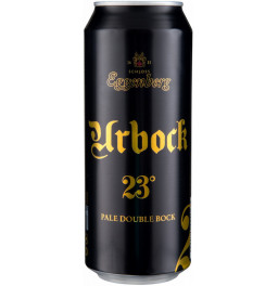 "Пиво Eggenberg, ""Urbock 23°"", in can, 0.5 л"