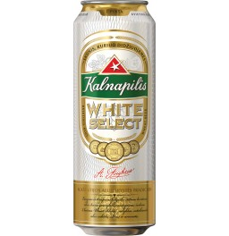 "Пиво ""Kalnapilis"" White Select, in can, 568 мл"