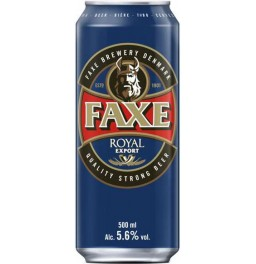 "Пиво ""Faxe"" Royal Export, in can, 0.5 л"