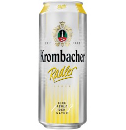 Пиво Krombacher, Radler, in can, 0.5 л