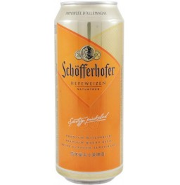 "Пиво ""Schofferhofer"" Hefeweizen, in can, 0.5 л"