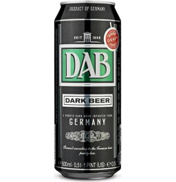 "Пиво ""DAB"" Dark, in can, 0.5 л"