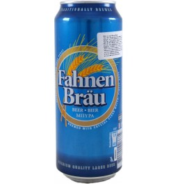 "Пиво ""Fahnen Brau"", in can, 0.5 л"
