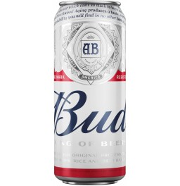 "Пиво ""Bud"", in can, 0.45 л"