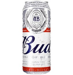 "Пиво ""Bud"" Alcohol Free, in can, 0.5 л"