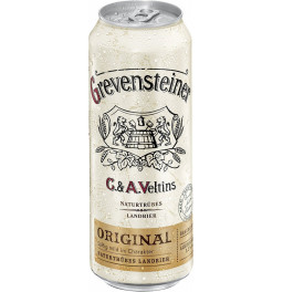 "Пиво C. & A. Veltins, ""Grevensteiner"" Original, in can, 0.5 л"