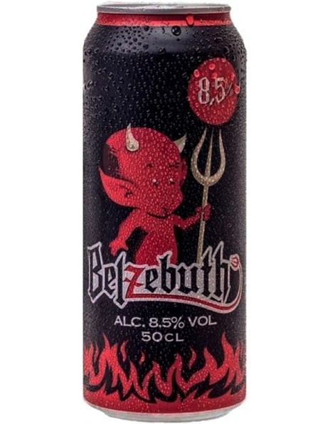 "Пиво ""Belzebuth"" Blond, in can, 0.5 л"